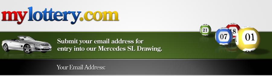 Enter Mylottery.com's Mercedes SL Drawing